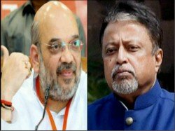 Amit Shah Advices Mukul Roy Win Panchayat Election West Bengal