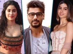 Hurt Arjun Kapoor Turns Supportive Step Sisters Janhvi Khushi Kapoor