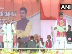 Biplab Deb Kumar Sworn As Tripura Chief Minister