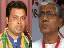 Future Chief Minister Tripura Biplab Dev Comes The House Manik Sarkar