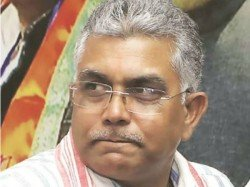Bjp S Central Leadership Ends Speculation Dilip Ghosh S President Post