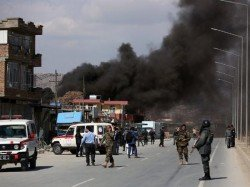 Blast Kills 29 Near Sakhi Shrine Kabul Afghanistan