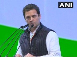 Rahul Gandhi Attack Modi Government Over Farmers Hindutva Issues In Congress Pelnary Session