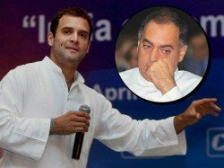 Rahul Gandhi Had Decided Come Politics On His Father Rajib Gandhi Death