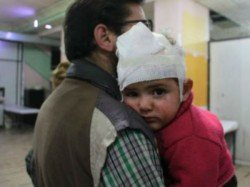 Children Syria S Ghouta Asking Help Through Social Media