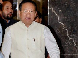 Constitutional Crisis Nagaland As Tr Zeliang Refuses Quit As Cm