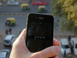 Uber Driver Locks Woman Inside Cab Delhi
