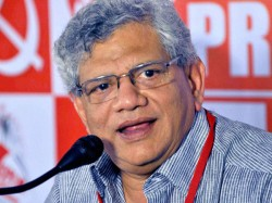 Sitaram Yechury Again Elects As The Cpm General Secretary
