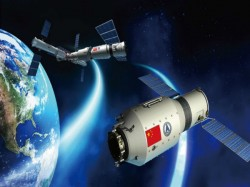 Chinese Space Station Tiangong 1 Plummets Earth