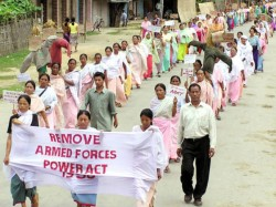Afspa Removed From Meghalaya Restricted Arunachal