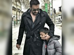 How Ajay Devgn Parties With Family On His Birthday