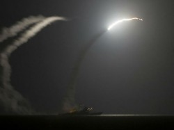 United States Britain France Launch Strikes On Syria