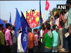 Dalit Groups Across The Country Blocks Rail Movements Due Bharat Bandh Called Them