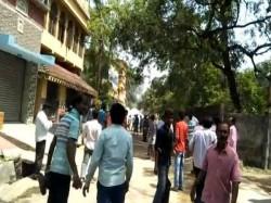 Police Tmc Caders Allegedly Opposing Nomination Opposition Parties Muraroi Birbhum