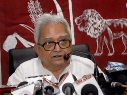 Lf Chairman Biman Basu Gives Message Opponent On Panchayat Election