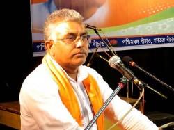 Dilip Ghosh Wants Accept Manoranjan Malik Bjp