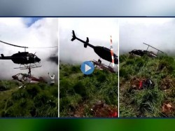 Rescue Helicopter S Blades Slice Survivor Death Columbian Hills Of Cauca