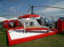 Russian Helicopters Hold Negotiations At Defexpo On The Maintenance Helicopters India