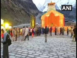 Kedarnath Yatra Begins Laser Show Among New Features Pilgrims