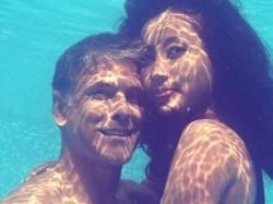 Milind Soman Ankita Konwar Post Marriage Under Water Pics Goes Viral