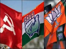 Bjp Congress Cpm Is Preparing File Nomination Again