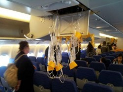 Why Men Take Oxygen Mask On The Plane The Wrong Way
