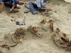 Remains 140 Children Found Peru Pointing World S Largest Ancient Child Sacrifice