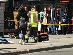 Dead Over 15 Injured As Van Runs Over Pedestrians Toronto