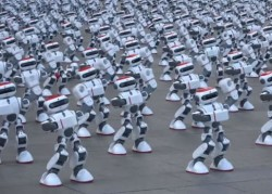 Over 1 300 Robots Dance Together Break Guinness World Record