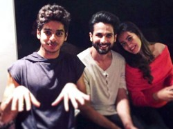 Brothers Shahid Kapoor Ishaan Khatter Star A Movie Together