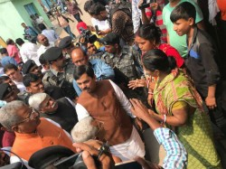 Shahnawaz Hussain Visits Asansol Conveyed The Message Two Chief Ministers