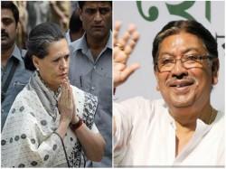 Sonia Gandhi Calls Over Phone Bengal S Congress Leader Somen