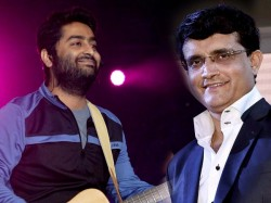 Arijit Singh Takes Inspiration From Sourav Ganguly