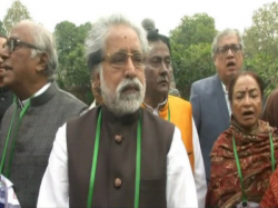 Tmc Mps Meet With Home Minister Rajnath Singh Against Governor
