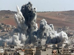 Us Launches Strikes On Chemical Weapons Syria