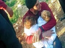 Several Children Died Recent Chemical Attack Allegedly Government Forces Syria