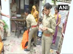 A Woman Her Family Allegedly Attempts Suicide Outside Cm S Residence Lucknow