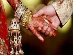 Bijnor Youth Crashes Wedding Venue On Bike Garlands Bride