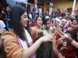 Priyanka Chopra Tries Her Hand At Bihu Dance Assam