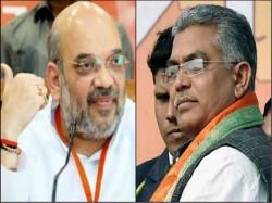 Dilip Ghosh Targets Win 22 Loksabha Seats Informs Amit Shah