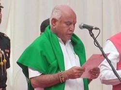 Amid Great Challenge Bjp S Bs Yeddyurappa Takes Oath As The Cm Karnataka