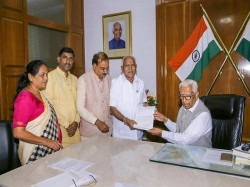 Karnataka Governor Vajubhai Bala Has Invited Bs Yeddyurappa Form Govt