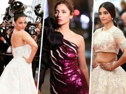 Amid Sonam Mahira S Fashion Fiesta Ash Grabs Eyeballs At Cannes