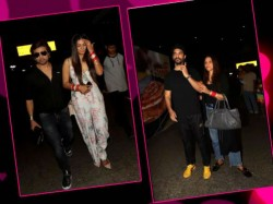 Himesh Reshammiya Neha Dhupia Returned From Honeymoon
