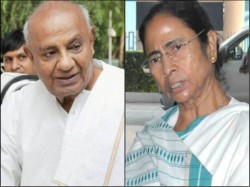 Mamata Banerjee Phones Devegowda Requests Support Congress