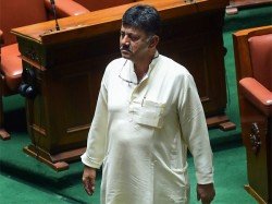 For The Karnataka Congress The Hero The Day Is D K Shivakumar
