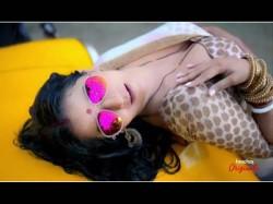Monalisa S Latest Video Rain Dance As Jhuma Boudi