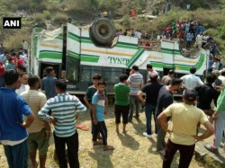 Seven Killed As Bus Falls Into Gorge Shimla Himachal Pradesh