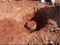 Landmine Recovered At Shalboni Before Panchayat Election West Bengal