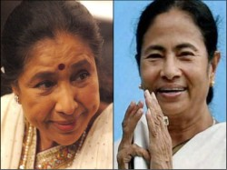 Mamata Banerjee Gives Banga Bibhusan Award Asha Bhosle Others
